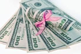 vrouw geld